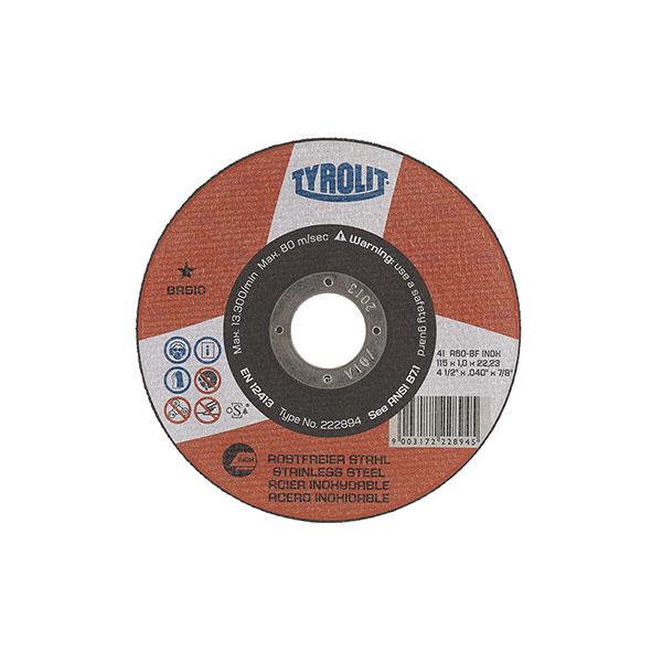disco ty basic 1estrela inox 115×1,0x22,23