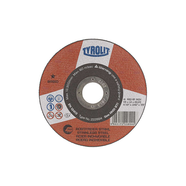disco ty basic 1estrela inox 125×1,0x22,23
